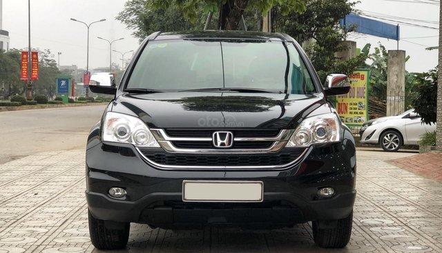 Bán Honda CR V 2.4 sản xuất năm 2011, màu đen, giá chỉ 599 triệu