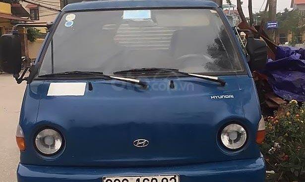 Cần bán lại xe Hyundai Porter năm 2008, màu xanh lam, máy móc gầm bệ chắc chắn