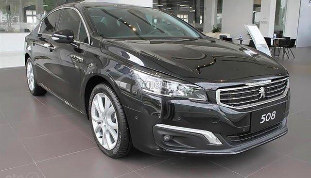 Cần bán Peugeot 508 năm 2015, màu đen, nhập khẩu