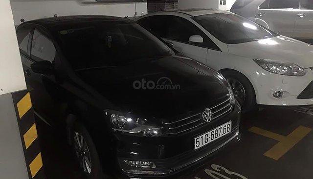Bán Volkswagen Polo đời 2016, màu đen, nhập khẩu