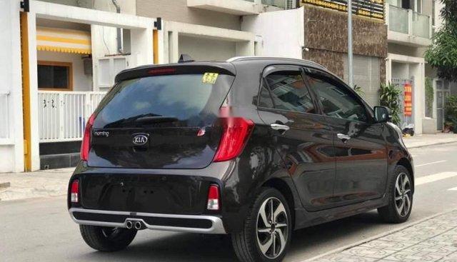 Bán ô tô Kia Morning S AT đời 2019, màu đen