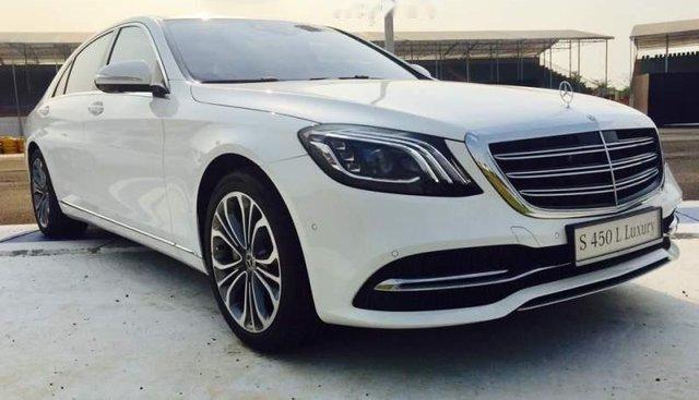 Bán Mercedes S450 Luxury năm sản xuất 2019, màu trắng, xe nhập