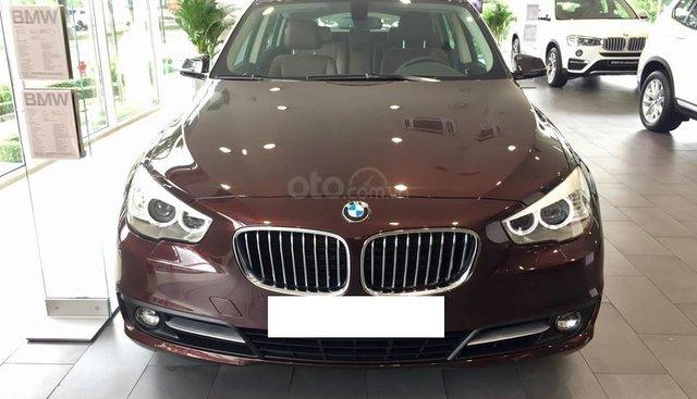 BMW 528i GT màu nâu đỏ, sản xuất 12/2017, đăng ký cuối 2018, biển Hà Nội