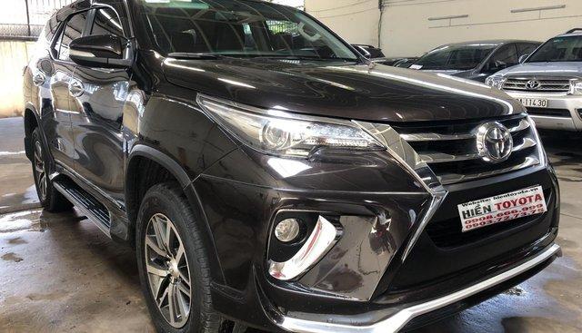 Bán Toyota Fortuner đời 2017, màu nâu, xe nhập