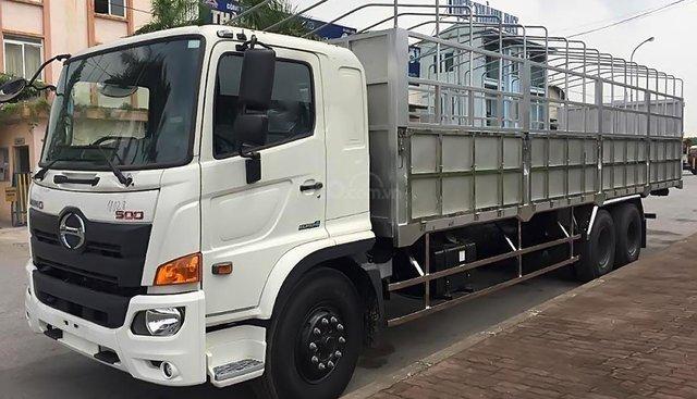 Cần bán Hino 500 Series 15 tấn sản xuất 2019, màu trắng