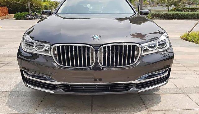 Bán BMW 740Li 2019, màu đen, nhập khẩu