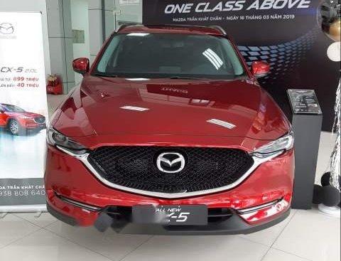 Bán xe Mazda CX 5 2018, màu đỏ, nhập khẩu