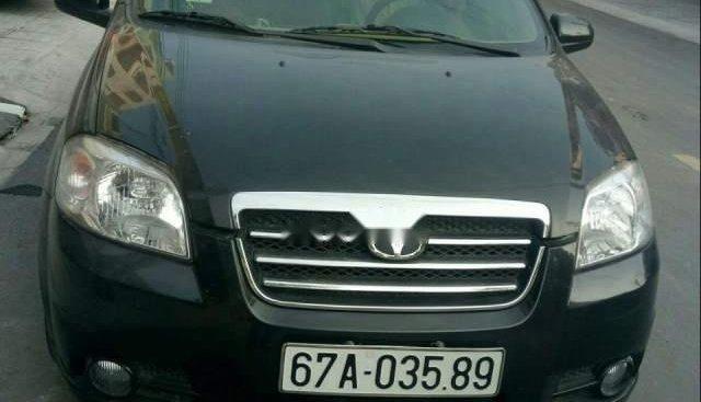 Bán Daewoo Gentra sản xuất năm 2009, màu đen, nhập khẩu xe gia đình