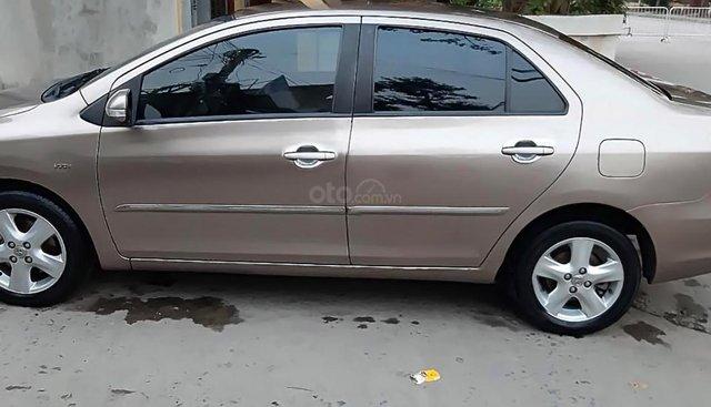 Cần bán Toyota Vios 1.5G đời 2009, màu vàng, số tự động, 355tr