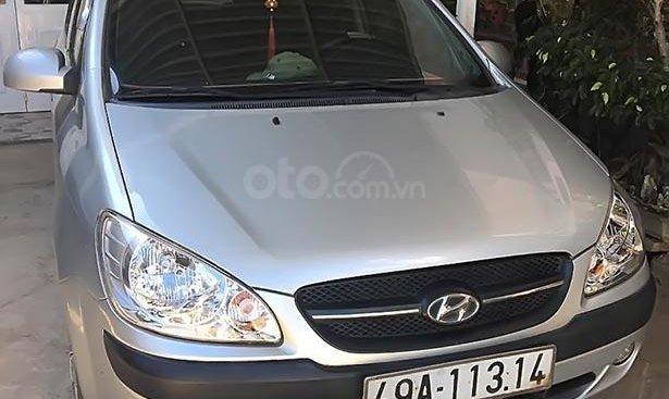 Bán Hyundai Getz 1.1 MT đời 2009, màu bạc, xe nhập, số sàn