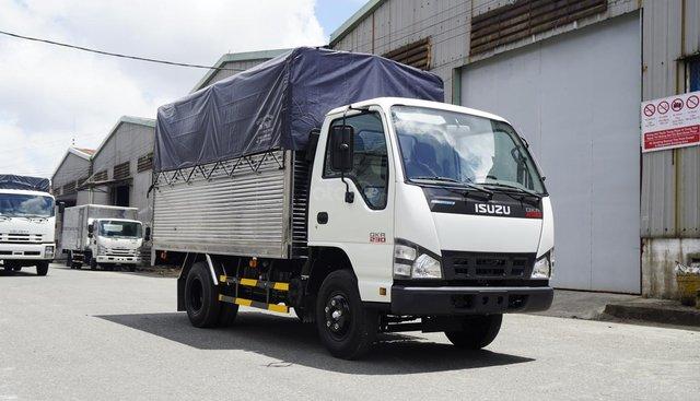 Bán Isuzu 1T4-1T9-2T5, thùng mui bạt 3m6 có sẵn, hỗ trợ trả góp
