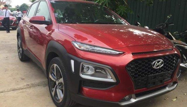 Bán ô tô Hyundai Kona 2019, màu đỏ giá cạnh tranh