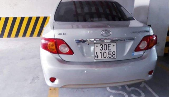 Bán Toyota Corolla altis đời 2009, màu bạc