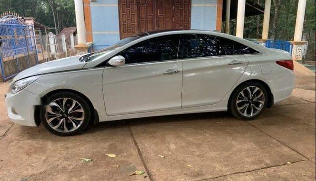 Bán Hyundai Sonata năm 2012, màu trắng, nhập khẩu nguyên chiếc