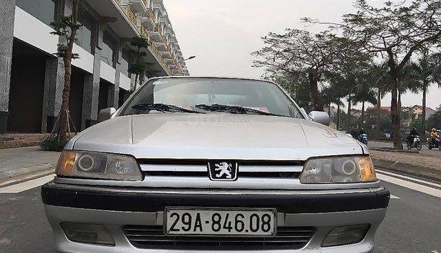 Bán Peugeot 605 2.0 MT đời 1994, màu bạc, nhập khẩu