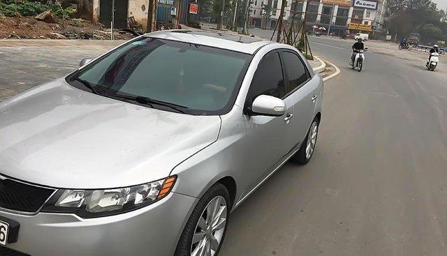 Bán Kia Forte SLI năm 2009, màu bạc, xe nhập