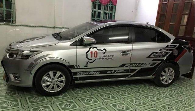 Cần bán gấp Toyota Vios 2018, màu bạc, giá 500tr