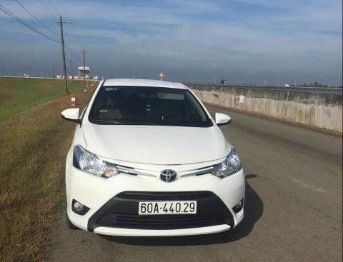 Bán xe Toyota Vios đời 2017, màu trắng, xe nhập