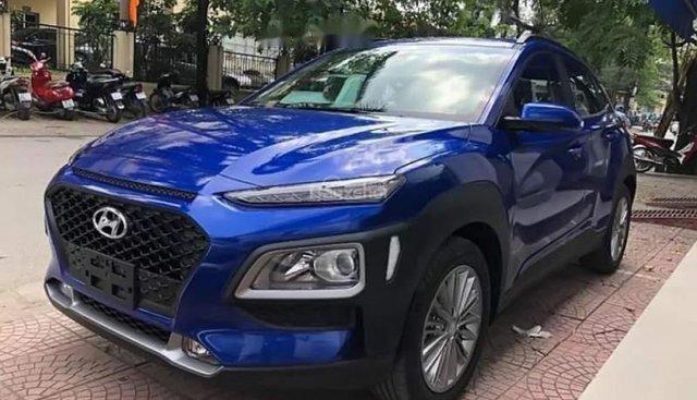 Bán ô tô Hyundai Kona đời 2019, màu xanh lam