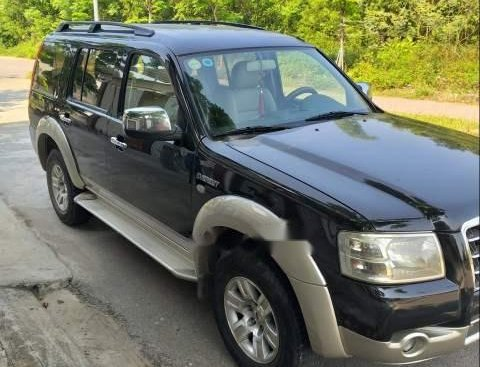 Cần bán Ford Everest năm sản xuất 2008, màu đen như mới, 342 triệu