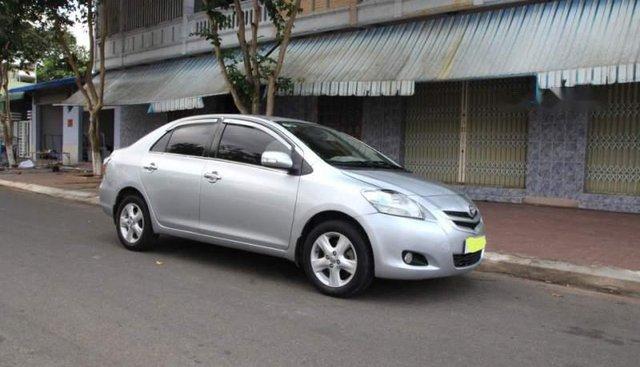 Bán gấp Toyota Vios E sản xuất 2008, màu bạc chính chủ