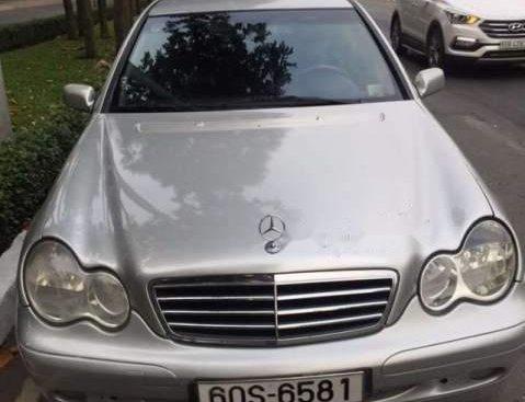 Cần bán lại xe Mercedes C180 năm 2001, màu bạc, xe nhập