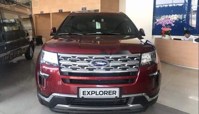 Bán Ford Explorer đời 2019, màu đỏ, xe nhập