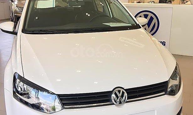 Cần bán Volkswagen Polo 1.6 AT 2018, màu trắng, nhập khẩu, giá tốt