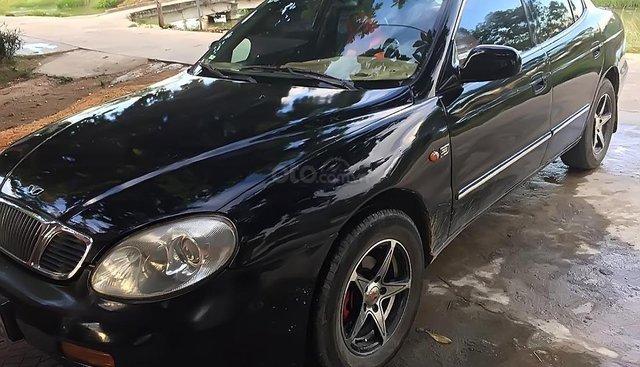 Bán Daewoo Leganza sản xuất 2001, màu đen, xe nhập