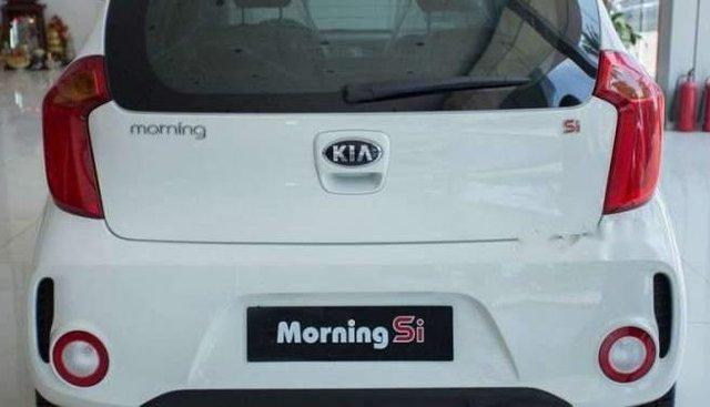 Cần bán lại xe Kia Morning SI MT 1.25 năm 2016, màu trắng, bản full option số sàn
