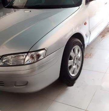 Bán Mazda 626 năm sản xuất 2001, màu bạc, nhập khẩu