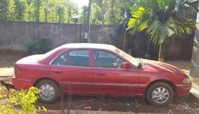 Bán lại xe Hyundai Sonata đời 1994, màu đỏ, nhập khẩu