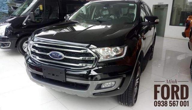 Cần bán xe Ford Everest đời 2019, màu đen, xe nhập