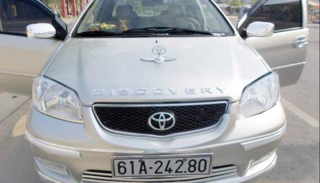Bán xe Toyota Vios G 2006, màu bạc, xe nhập