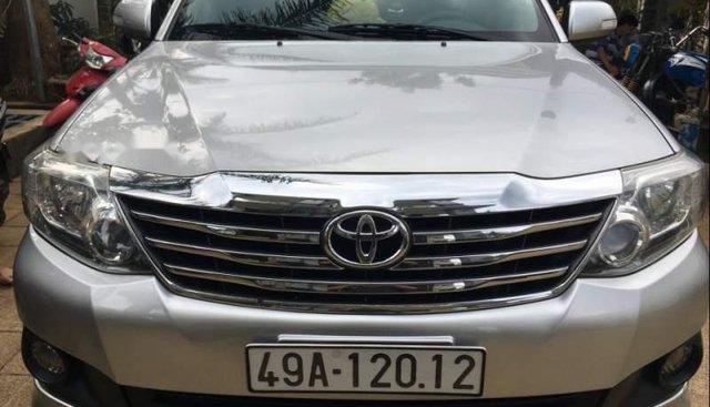 Bán Toyota Fortuner đời 2012, màu bạc, số tự động