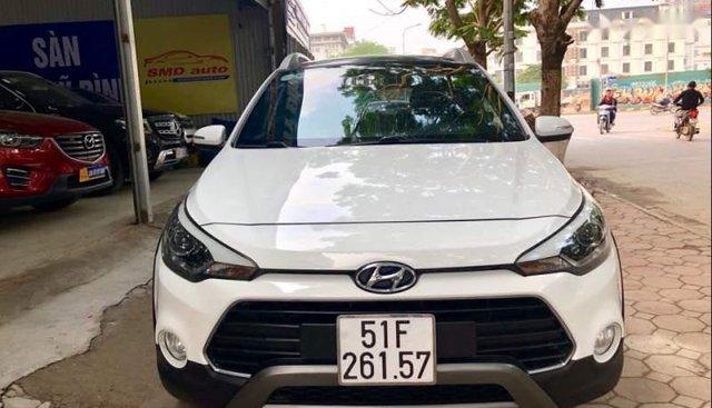 Bán ô tô Hyundai i20 Active 2015, màu trắng, nhập khẩu