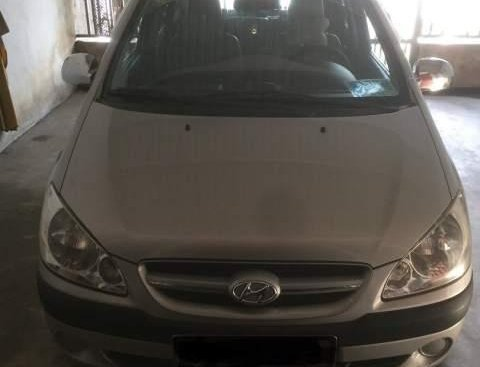 Bán xe Hyundai Click đời 2008, màu bạc, nhập khẩu