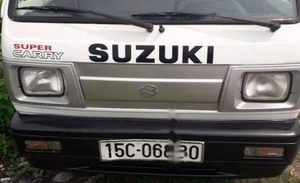 Bán Suzuki Super Carry Truck 2002, màu trắng, giá tốt