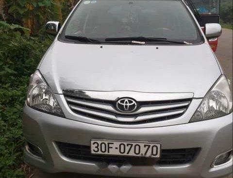 Bán Toyota Innova G 2011, màu bạc, giá 395tr