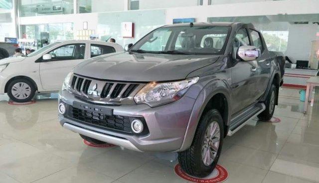 Bán xe Mitsubishi Triton sản xuất năm 2019, màu xám, nhập khẩu nguyên chiếc