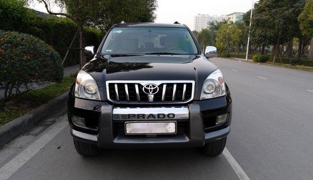 Cần bán xe Toyota Land Cruiser Prado GX đời 2009, màu đen, nhập khẩu