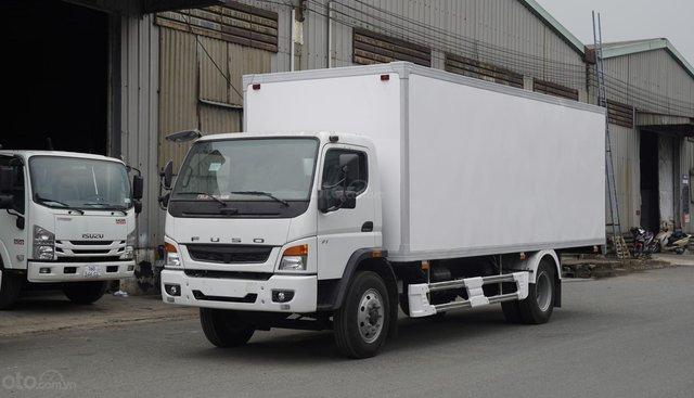 Bán xe tải Fuso FI tải trọng 7 tấn 1, thùng dài 6m7 giá tốt, hỗ trợ trả góp