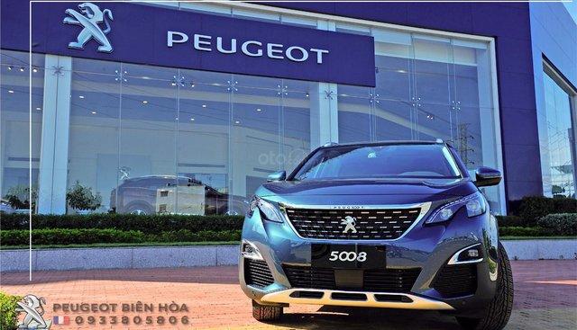 Peugeot Biên Hòa bán xe Peugeot 5008 2019 đủ màu, giao xe nhanh - Giá tốt nhất - 0933 805 806 để hưởng ưu đãi