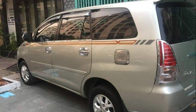 Cần bán lại xe Toyota Innova đời 2008, màu bạc