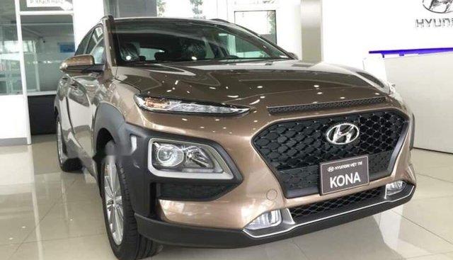 Bán Hyundai Kona 2019, màu nâu, giá chỉ 610 triệu