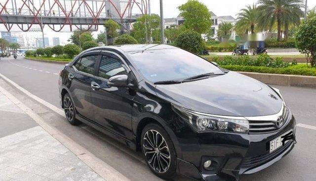 Bán xe cũ Toyota Corolla altis 2.0V đời 2015, màu đen