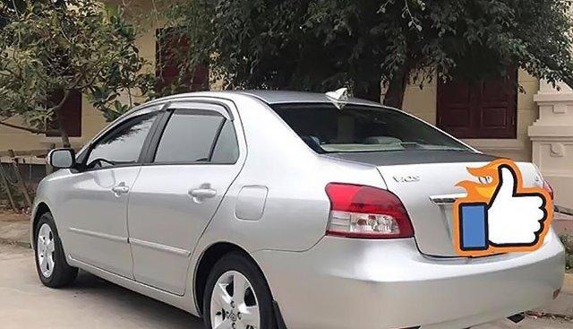 Bán Toyota Vios đời 2007, màu bạc số tự động