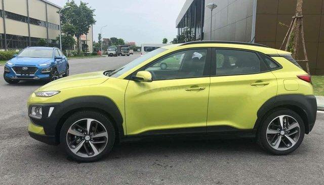 Hot Hot!!! Hyundai Kona Turbo vàng chanh giao ngay, hỗ trợ vay trả góp đến 85%, giá tốt nhất miền Nam. LH: 0903175312