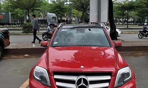 Bán xe Mercedes GLK300 AMG đời 2012, màu đỏ, nhập khẩu