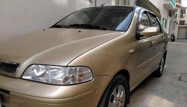 Cần bán Fiat Albea HLX năm sản xuất 2007, màu vàng chính chủ